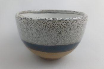 bol à thé blanc et noir terre apparente oterrefeu poterie palaiseau
