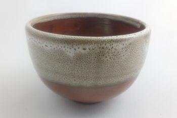 bol a thé rouge et blanc noel oterrefeu poterie palaiseau