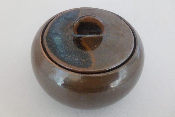 sucrier marron oterrefeu poterie palaiseau