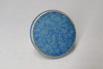 bague ronde bleue poterie palaiseau