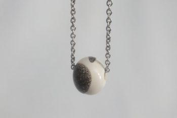 collier perle blanc poterie palaiseau