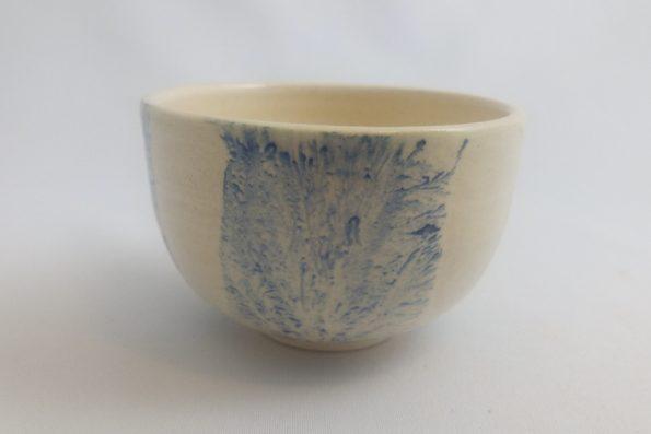 Bol à thé mocha tea bleu