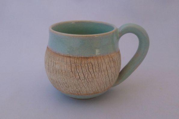 Tasse «terre du désert» lagon en céramique