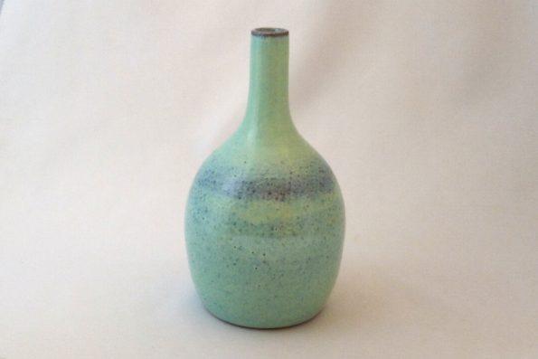 Soliflore lagon en céramique