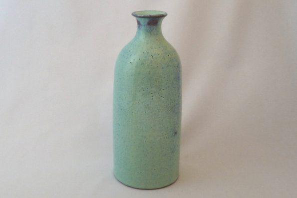 Vase bouteille lagon en céramique