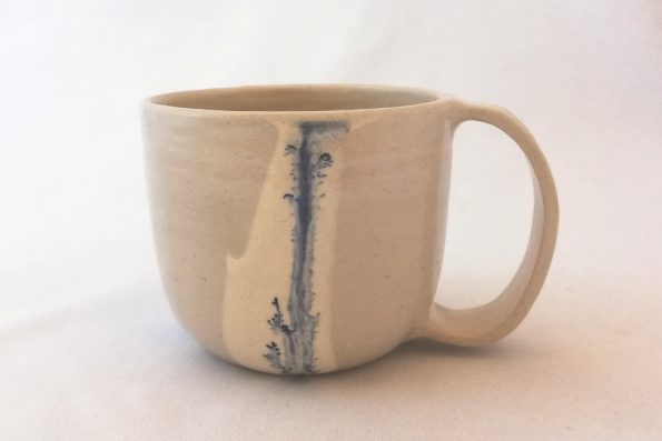 Mug Gisèle mocha tea bleu en céramique