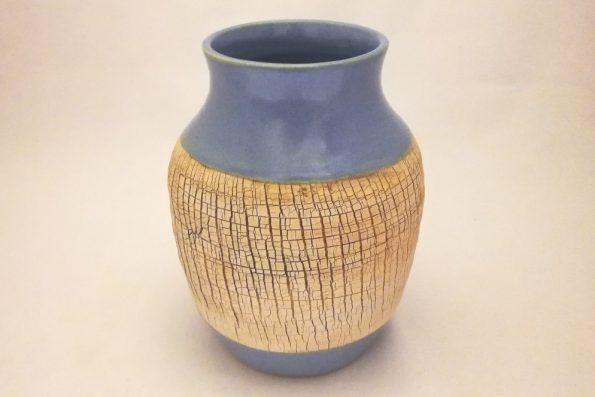 Vase «terre du désert» lavande en céramique